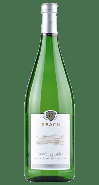 Durbacher - Grauburgunder - Pfandflasche -  Baden - Deutschland - 1,0 Liter | 2018 | Durbacher Winzergenossenschaft | Deutschland