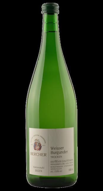 Weißer Burgunder - Baden - Deutschland - 1,0 Liter | 2018 | Bercher | Deutschland