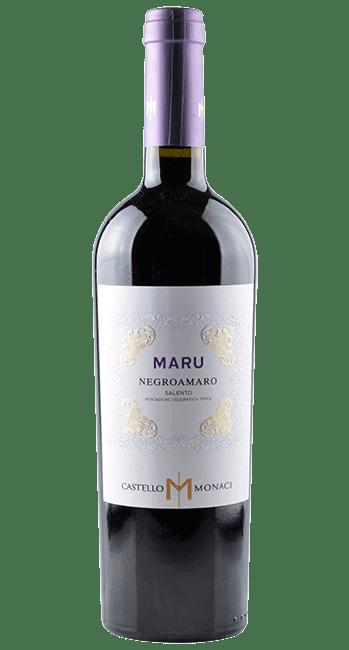 Maru - Negroamaro -Apulien - Italien   2018   Castello Monaci   Italien