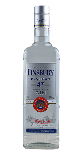 Finsbury - Platinum 47% - London Dry Gin - 0,7 Liter | Finsbury Distillery | England