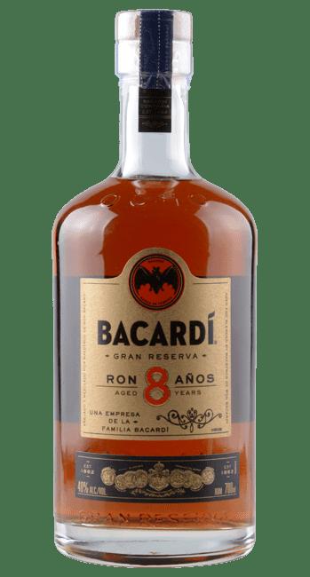 Bacardi - Gran Reserva -  Ron 8 Años - Puerto Rico | Bacardi | Puerto Rico