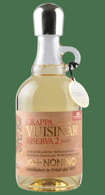 Grappa - Vuisinar - Riserva 2 Jahre -  Friaul - Italien - 0,7 Liter   Nonino   Italien