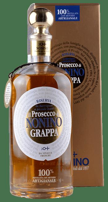 Grappa - Riserva - Prosecco -  Friaul - Italien - 0,7 Liter | Nonino | Italien