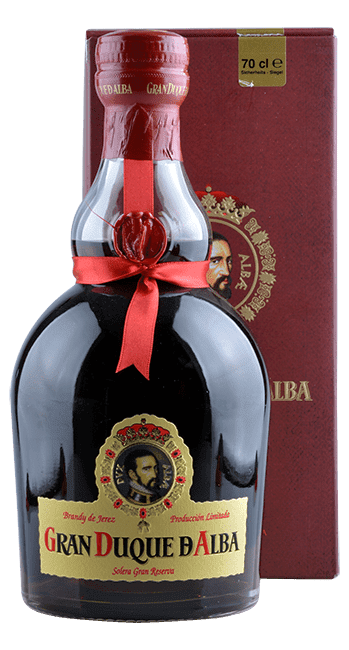 Gran Duque D' Alba - Solera Gran Reserva - Brandy de Jerez - Spanien - 0,7 Liter   Bodegas Williams & Humbert   Spanien