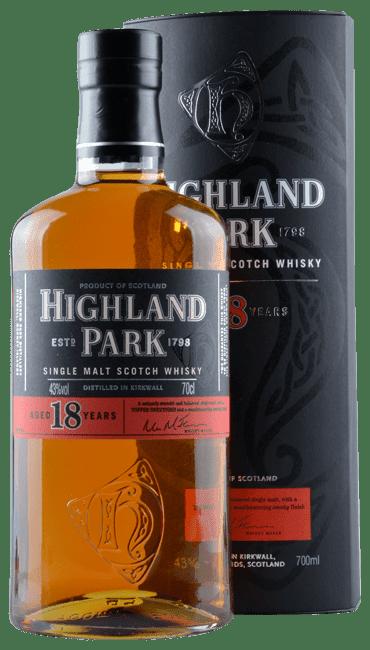 Highland Park - 18 Years -   Single Malt Scotch Whisky - 0,7 Liter | Highland Park Distillery | Schottland