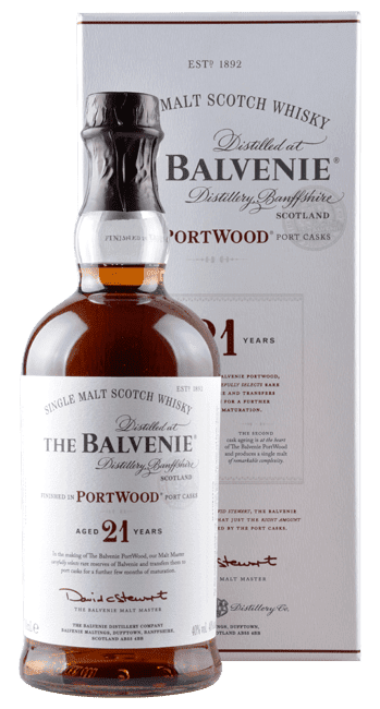 The Balvenie - PortWood - 21 Years -  Single Malt Scotch Whisky  - 0,7 Liter | The Balvenie Distillery | Schottland