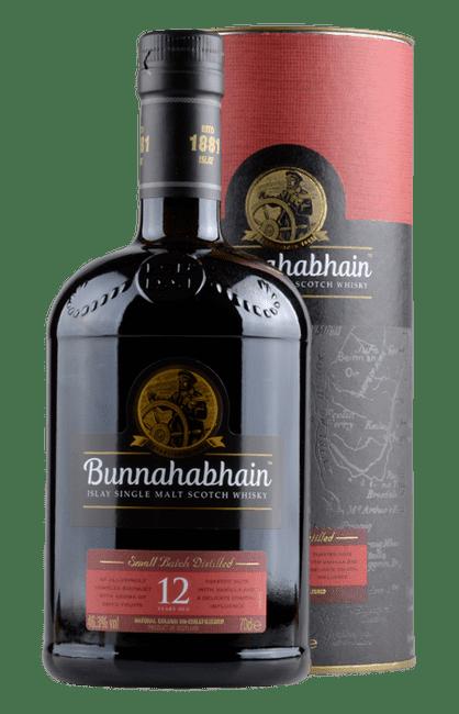 Bunnahabhain - 12 Years -  Islay Single Malt Scotch Whisky - 0,7 Liter | Bunnahabhain Distillery | Schottland