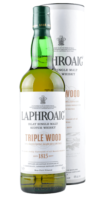 Laphroaig - Triple Wood -  Islay Single Malt Scotch Whisky - 0,7 Liter | Laphroaig Distillery | Schottland