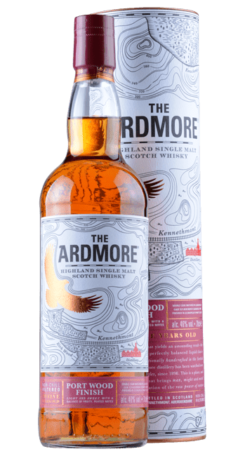 Ardmore - Port Wood Finish - 12 Years - Highland Single Malt Scotch Whisky - 0,7 Liter | Ardmore Distillery | Schottland