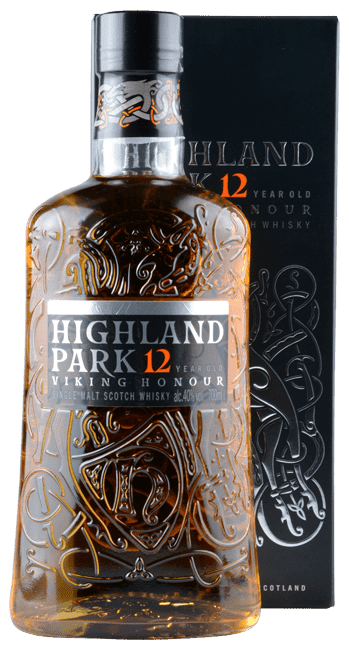 Highland Park - 12 Years - Viking Honour -    Single Malt Scotch Whisky - 0,7 Liter | Highland Park Distillery | Schottland