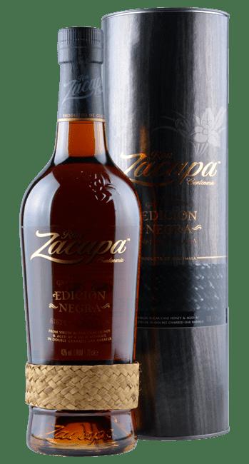 Ron Zacapa - Edicion Negra - Sistema Solera -  Gran Reserva - Guatemala - 0,7 Liter | Ron Zacapa | Guatemala