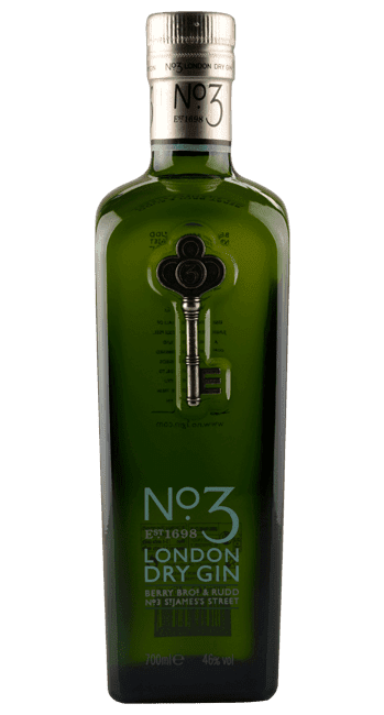 No. 3 London Dry Gin - England - 0,7 Liter | Berry Bros & Rudd | England