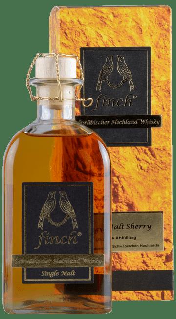 Finch - Schwäbischer Highland Whisky -  Single Malt - Sherry - Deutschland - 0,5 Liter | finch Whiskydestillerie | Deutschland