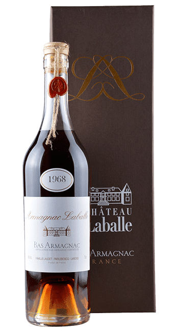 Bas Armagnac - 1968 -  Gascogne - Frankreich - 0,7 Liter | 1968 | Château Laballe | Frankreich