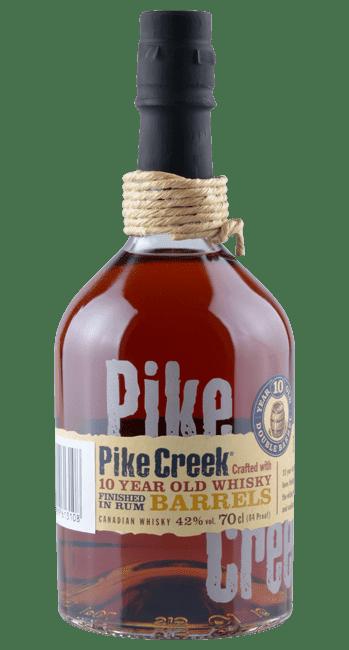 Pike Creek - 10 Jahre -  Canadian Whisky - 0,7 Liter | Corby Wine & Spirit Ltd. | Kanada