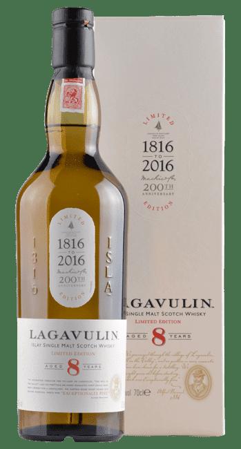 Lagavulin - 8 Years -  Islay Single Malt Scotch Whisky  - 0,7 Liter | Lagavulin | Schottland