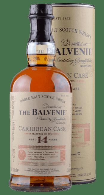 The Balvenie - Caribbean Cask - 14 Years -   Single Malt Scotch Whisky - 0,7 Liter | The Balvenie Distillery | Schottland