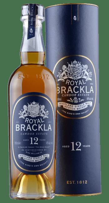 Royal Brackla - 12 Years -  Highland Single Malt Scotch Whisky - 0,7 Liter | Royal Brackla Distillery | Schottland