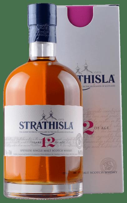 Strathisla - 12 Years -  Speyside Single Malt Scotch Whisky - 0,7 Liter | Strathisla Distillery | Schottland