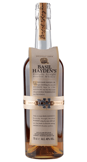 Basil Hayden's - Artfully Aged - 8 Jahre -  Kentucky - USA - 0,7 Liter | Kentucky Springs Distilling | USA