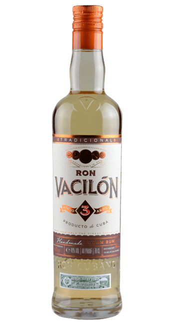 Ron Vacilón - 3 Años -  Kuba - 0,7 Liter | Destillería Heriberto Duquesne | Kuba