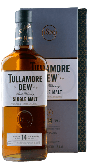Tullamore Dew - 14 Years -  Single Malt - Irish Whiskey - 0,7 Liter   Tullamore Dew   Irland