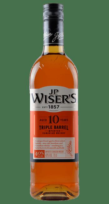 J.P. Wiser's - 10 Years - Triple Barrel -  Canadian Whisky - 0,7 Liter | J.P. Wiser's | Kanada