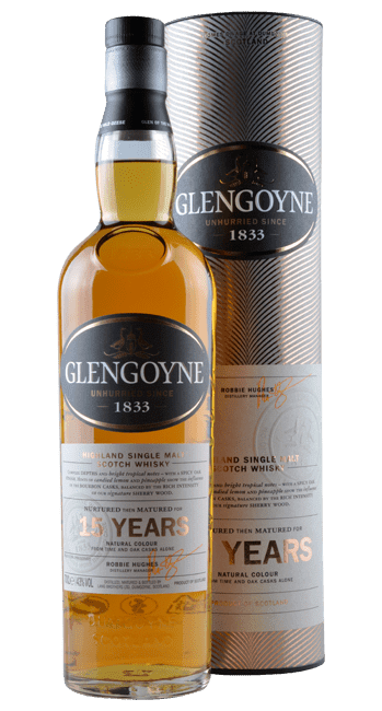 Glengoyne - 15 Years -  Highland Single Malt Scotch Whisky - 0,7 Liter | Glengoyne | Schottland