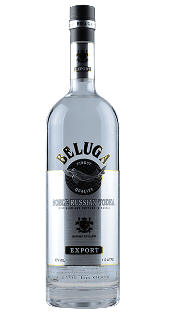 Beluga - Noble Russian Vodka -  Sibirien - Russland - 1,0 Liter | Mariinsk Distillery | Russland