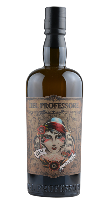 Del Professore - Gin À la Madame -  Italien - 0,7 Liter | Antica Distilleria Quaglia | Italien