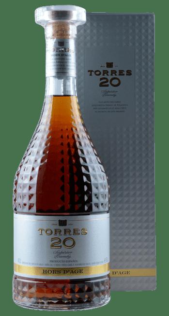 Torres 20 - Superior Brandy - Hors d'Age - Spanien - 0,7 Liter | Miguel Torres | Spanien