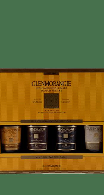 Glenmorangie - Taster Pack - (4 x 10 cl) -  Highland Single Malt Scotch Whisky - Schottland | Glenmorangie | Schottland