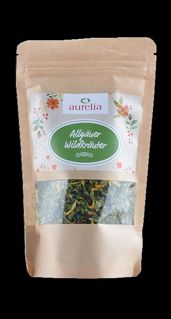 Aurelia - Wildkräuter -Westallgäu - Deutschland - 25g   Aurelia Allgäuer Naturprodukte   Deutschland