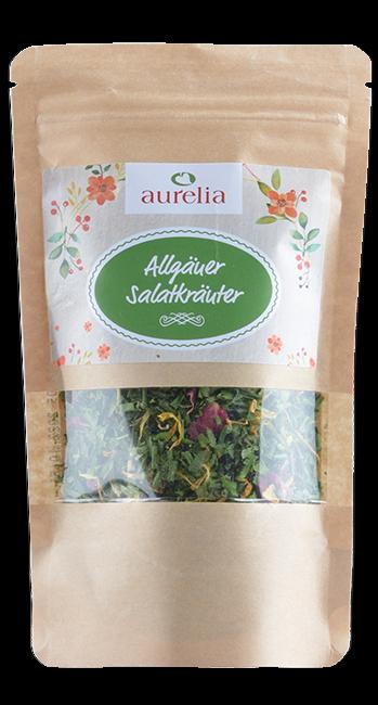 Aurelia - Salatkräuter -Westallgäu - Deutschland - 25g | Aurelia Allgäuer Naturprodukte | Deutschland
