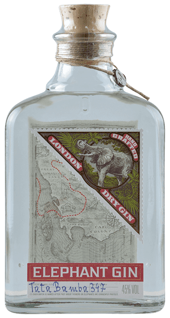 Elephant Gin - Handcrafted London Dry Gin -  Deutschland - 0,5 Liter | Elephant Gin | Deutschland