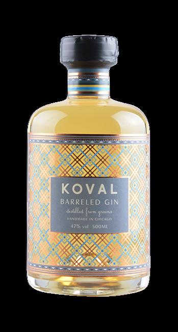 Koval - Barreled Gin - Chicago - USA - 0,5 Liter | Koval | USA