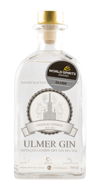 Ulmer Gin -Bayern - Deutschland - 0,5 Liter   Château Steinle Manufaktur   Deutschland