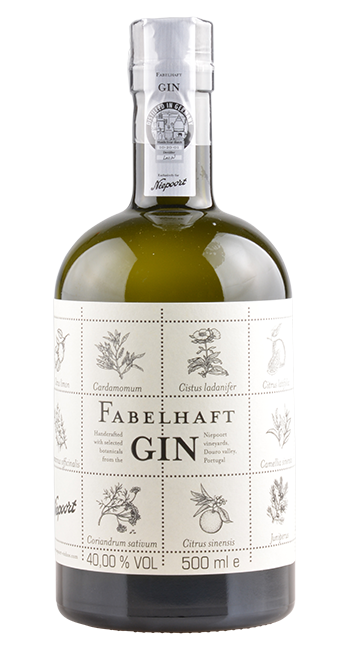Fabelhaft Gin - Douro - Portugal - 0,5 Liter | Niepoort | Portugal