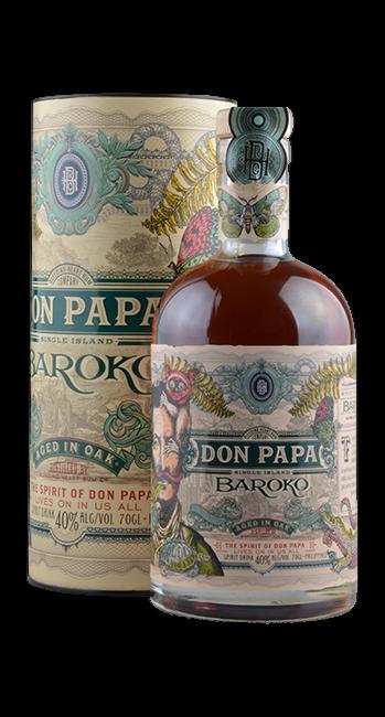 Don Papa Rum - Baroko - Insel Negros - Philippinen - 0,7 Liter | Bleeding Heart Rum Company | Philippinen