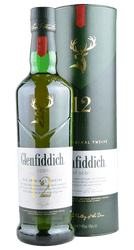 Glenfiddich - 12 Years - Single Malt Scotch Whisky - 0,7 Liter | Glenfiddich | Schottland