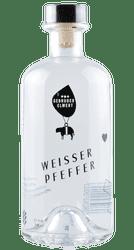 Weisser Pfeffer - Pfefferminzlikör -  Schwaben - Deutschland - 0,5 Liter | Gebrüder Elwert | Deutschland