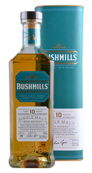 Bushmills - 10 Years -  Single Malt Irish Whiskey - 0,7 Liter | Bushmills | Irland