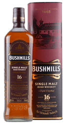 Bushmills - 16 Years - Single Malt Irish Whiskey - 0,7 Liter | Bushmills | Irland