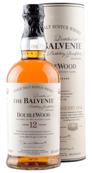 The Balvenie - Doublewood - 12 Years -    Single Malt Scotch Whisky  - 0,7 Liter | The Balvenie Distillery | Schottland