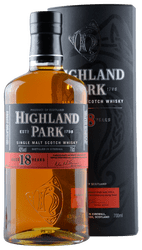 Highland Park - 18 Years -   Single Malt Scotch Whisky - 0,7 Liter | Highland Park Distillery | Schottland
