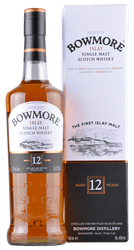 Bowmore - 12 Years -  Islay Single Malt Scotch Whisky - 0,7 Liter | Bowmore Distillery | Schottland