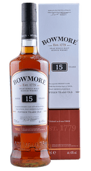Bowmore - 15 Years - Islay Single Malt Scotch Whisky - 0,7 Liter | Bowmore Distillery | Schottland