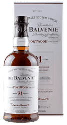 Balvenie - PortWood - 21 Years -  Single Malt Scotch Whisky  - 0,7 Liter | The Balvenie Distillery | Schottland