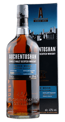 Auchentoshan - Three Wood - Rich and Elegant -Single Malt Scotch Whisky  - 0,7 Liter | Auchentoshan Distillery | Schottland