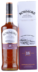 Bowmore - 18 Years -  Islay Single Malt Scotch Whisky - 0,7 Liter | Bowmore Distillery | Schottland